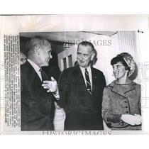 1965 Press Photo John Glenn President Johnson - RRR19813