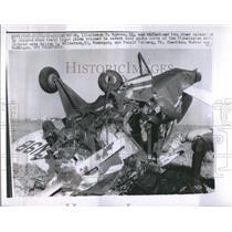 1962 Press Photo Bloomington Airport Crash Planes - RRR25617