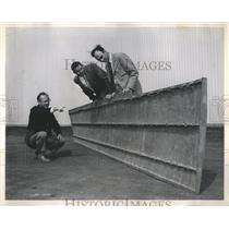 1952 Press Photo Wing Airplane Case Magnesium - RRR38385