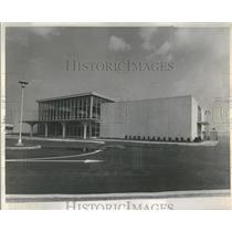 1961 Press Photo New Administration Building Meig Field - RRR90349