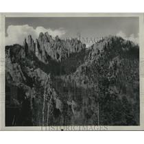 1928 Press Photo Granite Cathedral Spires of Black Hills in South Dakota.