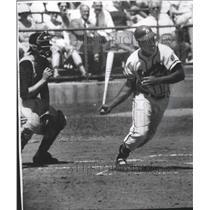 1958 Press Photo Wes Covington-Milwaukee Braves' Slugging Outfielder - mjs04715