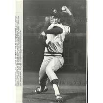 1974 Press Photo Kansas City Royals Steve Busby - spx11536