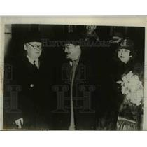1930 Press Photo Russian Delegation to Disarmament Conference at Geneva