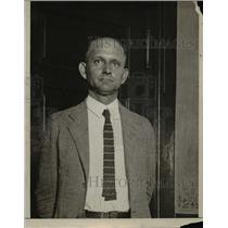 1924 Press Photo Dr JT Black Proprietor of Herrin Hospital in KKK Disturbance
