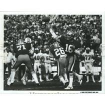 1985 Press Photo Joe Montana-San Francisco 49ers Star Quarterback