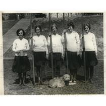 1924 Press Photo Smith College for Women Crew Team Eleanor Baily, - nez03378