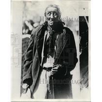 1928 Vintage Press Photo Native American So-Jun-Wah Sub Chief for Kaws