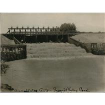 1923 Press Photo  Alamo Water Gate in Imperial Valley  - nec62559