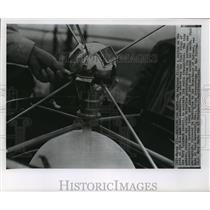 1953 Press Photo Orbiting the Earth-Navy Rocket, test satellite - cvb75540