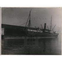 1918 Press Photo The S. S. Pennsylvania In The Water - nex58863