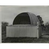 1935 Press Photo Second photo Young Astronomers Build Observatory - nee08528