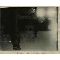 1925 Press Photo Interior View Maori Council House New Zealand - nee39822