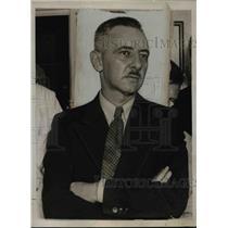 1936 Press Photo John S. Farnsworth Held as Spy for Selling Secrets to Japan
