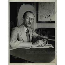 1927 Press Photo Clarence M Young Appointed to Director of Aeronautics Division