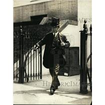 1923 Press Photo Ambassador Hanihara of Japan at White House - nef47904