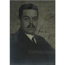 1920 Press Photo Karoly Huszar, Prime Minister of Hungary - nef51546