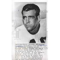 1965 Press Photo Preston Carpenter, Washington Redskins' clutch pass receiver