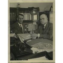 1922 Press Photo Daniel Helt Signal Mens Brotherhood, WL McMenimen Labor Board