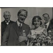 1900 Press Photo Ruth Lindsay Edgar Piper Publisher Portland Oregonian