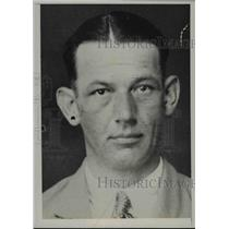 1937 Press Photo Carl h. Carlson of Waterbury, Connecticut - nef34281