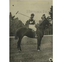 1923 Press Photo Polo Player on Horse - ney24009