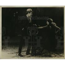 "1921 Press Photo Actor Ralph Graves, Carol Dempster in ""Dream Street"""