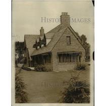 1929 Press Photo Home of Boxer Jack Sharkey in Chestnut Hills, Masscahusetts