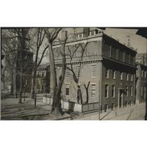 1905 Press Photo Phila-American Philosophical Society Bldg & Independence Hall