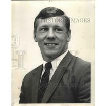 1968 Press Photo New Orleans Saints - Dan Abramowicz, VP First National Realty