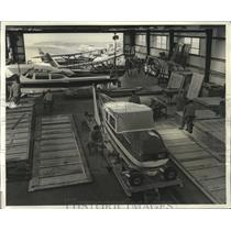 1965 Press Photo Planes - Aircraft Packing Co. Inc. Prepares Overseas Shipment