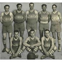 1925 Press Photo National Catholic Community House City League Championship