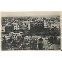 1924 Press Photo Air View of Alexandria, Egypt, Great Port of the Mediterranean