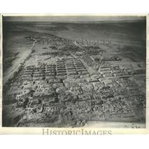 1931 Press Photo Excavation of the Giza Pyramids in Egypt - mjx24166