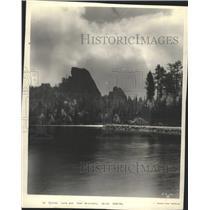 Press Photo Sylvan Lake Bear Mountain South Dakota - RRY38605