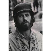 1969 Press Photo Ronald E Krazy Dave Becker - mja48460