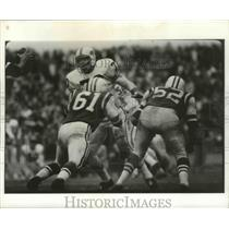 Press Photo Tom Sestak of the Buffalo Bills - nes53176
