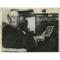 1930 Press Photo Sir Thomas Lipton, world famed British Sportsman - sbs00974