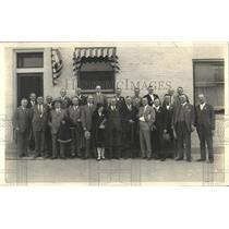 1927 Press Photo numerous businessman Denver Colorado - RRY49425
