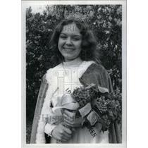 1916 Press Photo Jenneine Rowley Queen Festival Julio - RRU34295