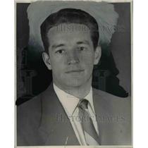 1953 Press Photo Lawrence J Wilson Franklin baseball coach killed in plane wreck
