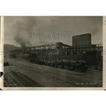 1921 Press Photo Early Portland Docks - orb37649
