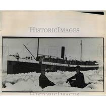 1907 Press Photo Icy Columbia River - orb59375