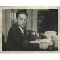 1926 Press Photo Lester P Barlow Inventor of the Flying Torpedo - sbs01684
