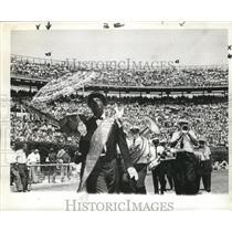 1967 Press Photo Olympia Brass Band Plays at Sugar Bowl, New Orleans - noa00793