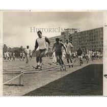 1967 Press Photo New Orleans Saints-Saints hopefuls begin the first tests.