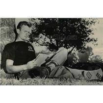 1948 Press Photo Harry Gilmer - orc13268
