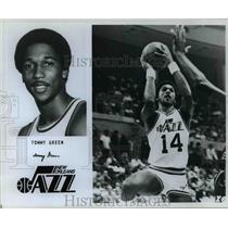 Press Photo Tommy Green Utah Jazz - orc10271