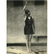 1923 Press Photo Lyla Sheffield, swimmer - net31504