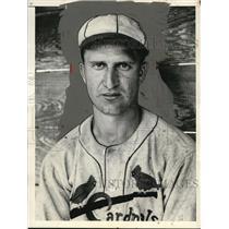 1936 Press Photo Lynn King of the St. Louis Cardinals - net30011